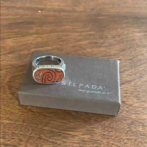 R2023 retired Silpada ring sterling silver